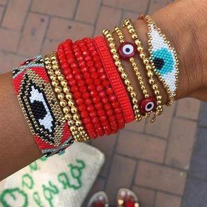 Bracelet kit with 9pcs total 💖 Handmade W/Tassel